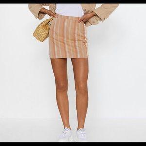The Finish Line mini skirt
